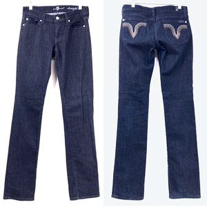 7 For All Mankind Kate Embellished Pocket Jeans 26
